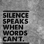 stilte spreekt retraite