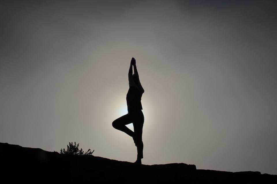 Afvallen met yoga