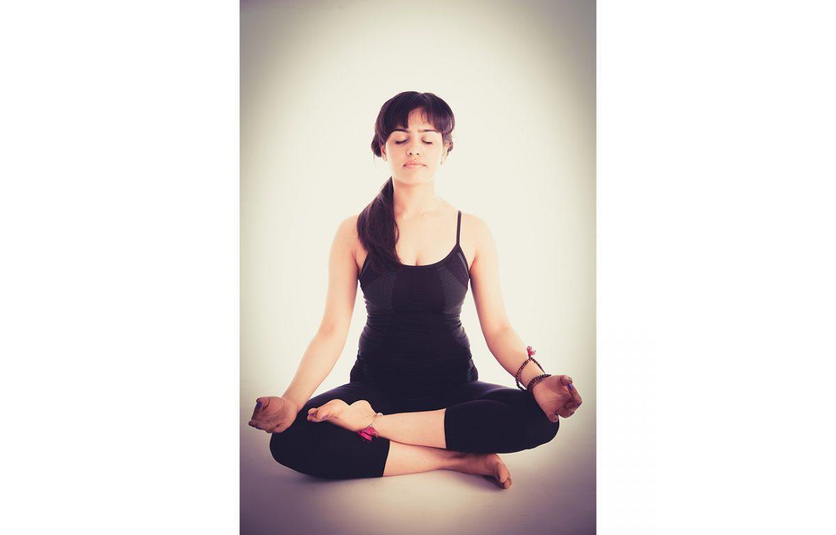Goede zithouding bij meditatie