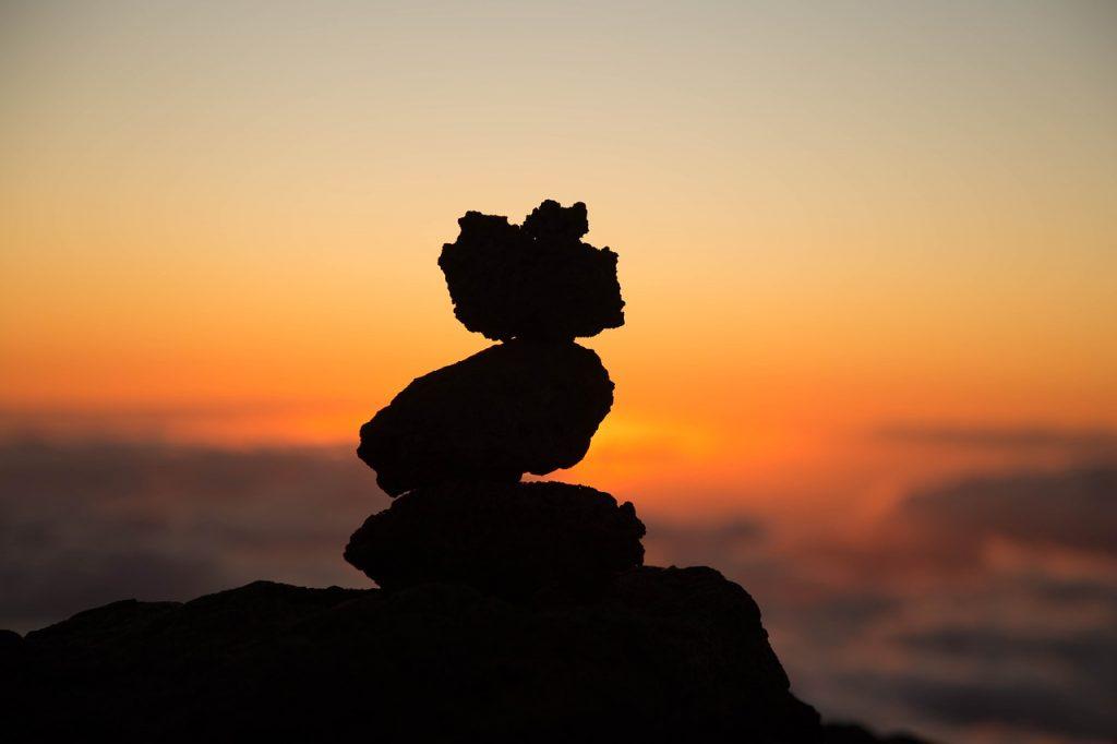 balans harmonie door meditatie