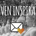 aanmelden inspiratiemails meditatie retraites