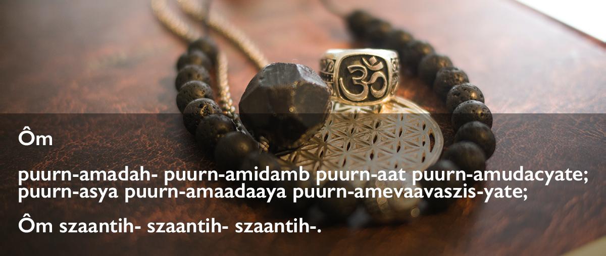 Om purnam mantra