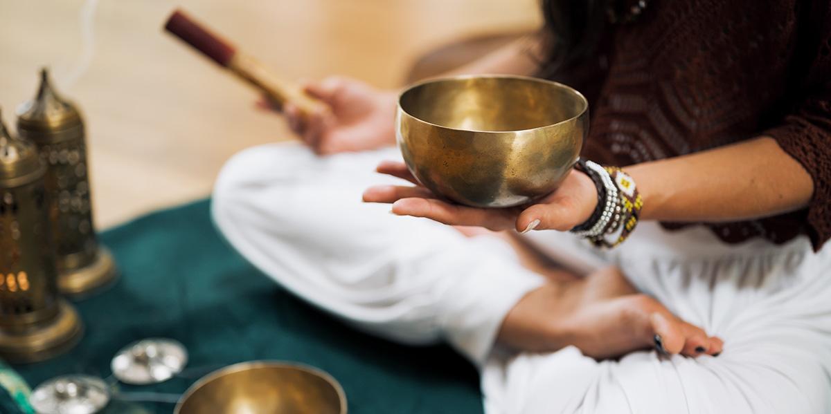 Online klankschaal meditaties en muziek