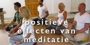 Onderzoek positieve effecten meditatie & mindfulness
