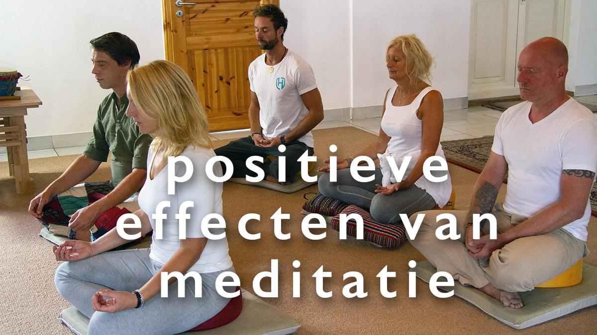 Onderzoek naar de positieve effecten van meditatie
