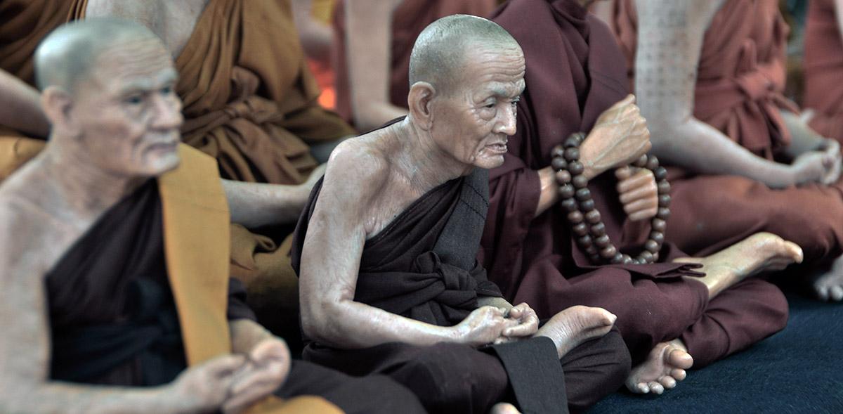 Vijf rituelen uit het Boeddhisme
