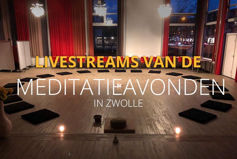 livestreams meditatieavonen