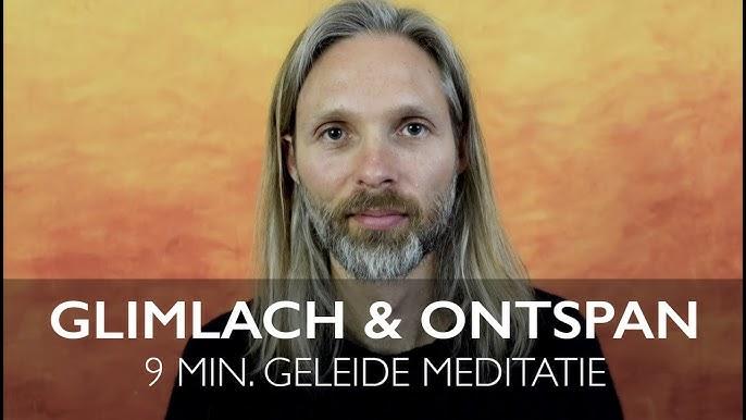 Geleide glimlach en ontspan meditatie