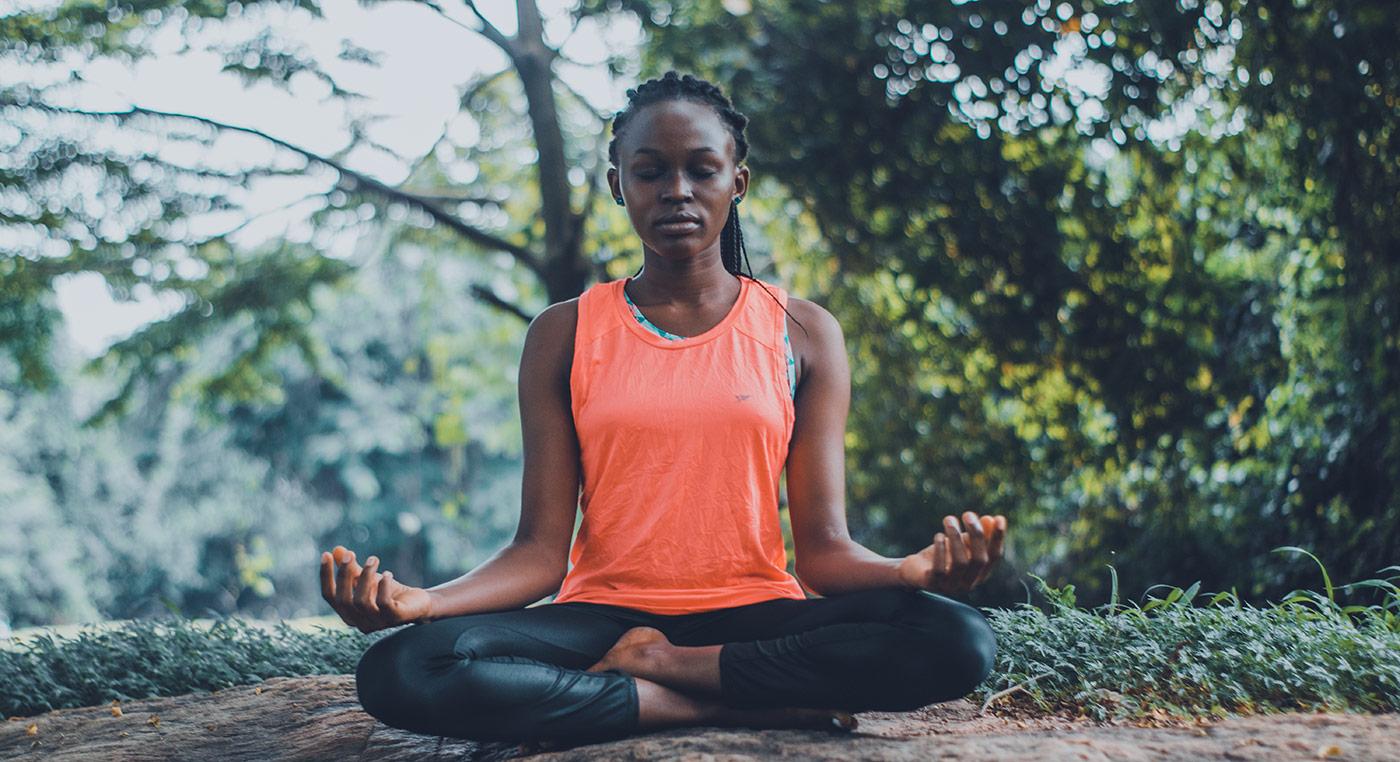 Mediteren met ogen open of gesloten?
